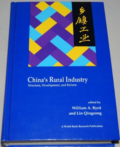 chinas-rural-industry-structure-development-and-reform-a-world-bank-research-publication