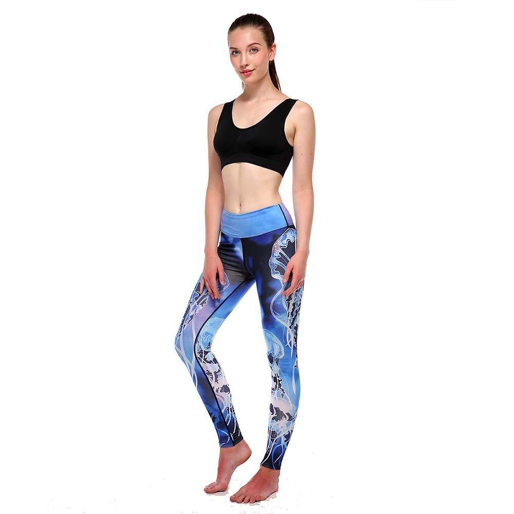 Damark Pantalones Mujer Deportivas Yoga Malla de Retazos ...
