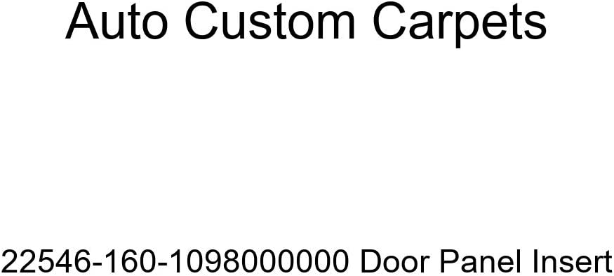 Auto Custom Carpets 22546-160-1098000000 Door Panel Insert
