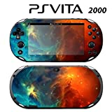 Skin Decal Cover Sticker for Sony PlayStation PS Vita Slim (PCH-2000) - Space Nebula Stars