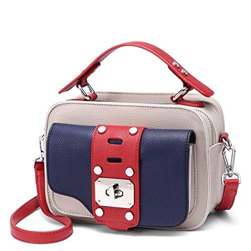 sacs multicolore noir besace sacs DAMES LEODIKA sac Sacs main femmes bandoulière à Pink à caméra pour Meat qxtHP4
