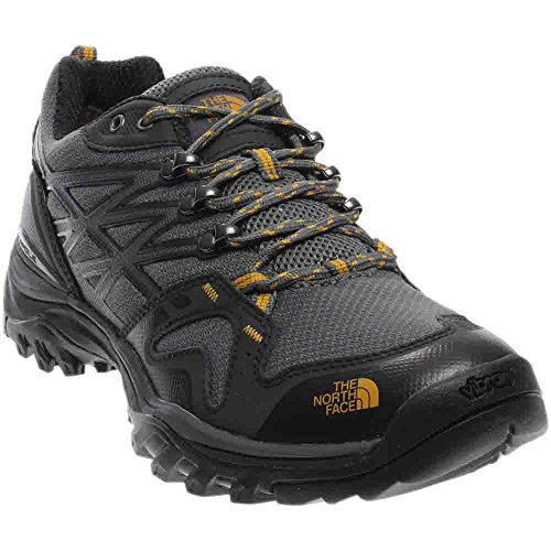The North Face Men's Hedgehog Fastpack Gore-TEX Hiking Shoe Zinc Grey/arrowwood Yellow Size 9.5 M (Imported Mens Shoes)