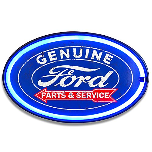 Ford LED Lighted Sign, 16