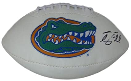 Urban Meyer Florida Gators Signed Logo Football Jsa Sports Mem, Cards & Fan Shop