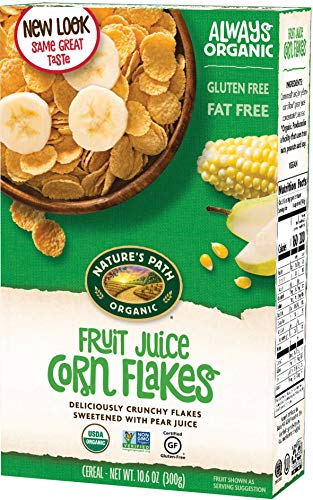 - Nature's Path, Organic FJS Corn Flakes Cereal, 10.6 oz