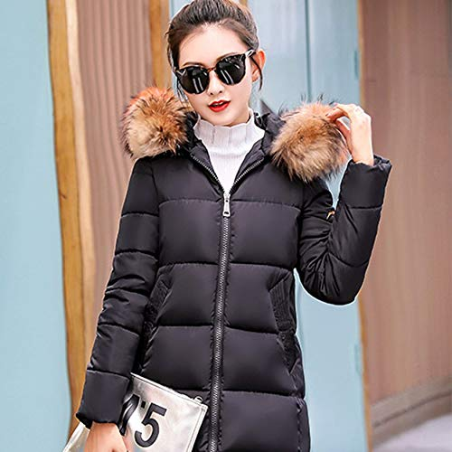 Coat Warm Jacket Cotton Casual Outwear Keep Winter For Slim Thickening Women Yaoaomitn 1axOBYwn