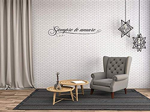 - Art Quote Saying Home Siempre te Amare Wall Decals Mural Decor Vinyl Sticker SK6931