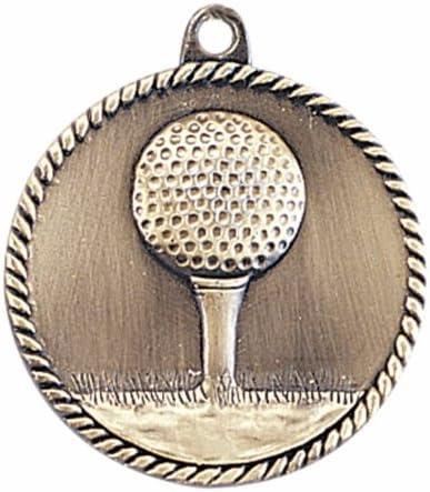 Trofeo paraíso alta alivio – Golf medalla 2.0
