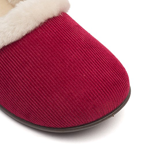 Ladies Frost Red Red Slippers Clarks Winona dUvqdz