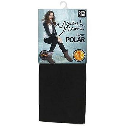 YSABEL MORA - PANTY POLAR YSABEL MORA 300DEN mujer color: Negro talla: large: Amazon.es: Ropa y accesorios