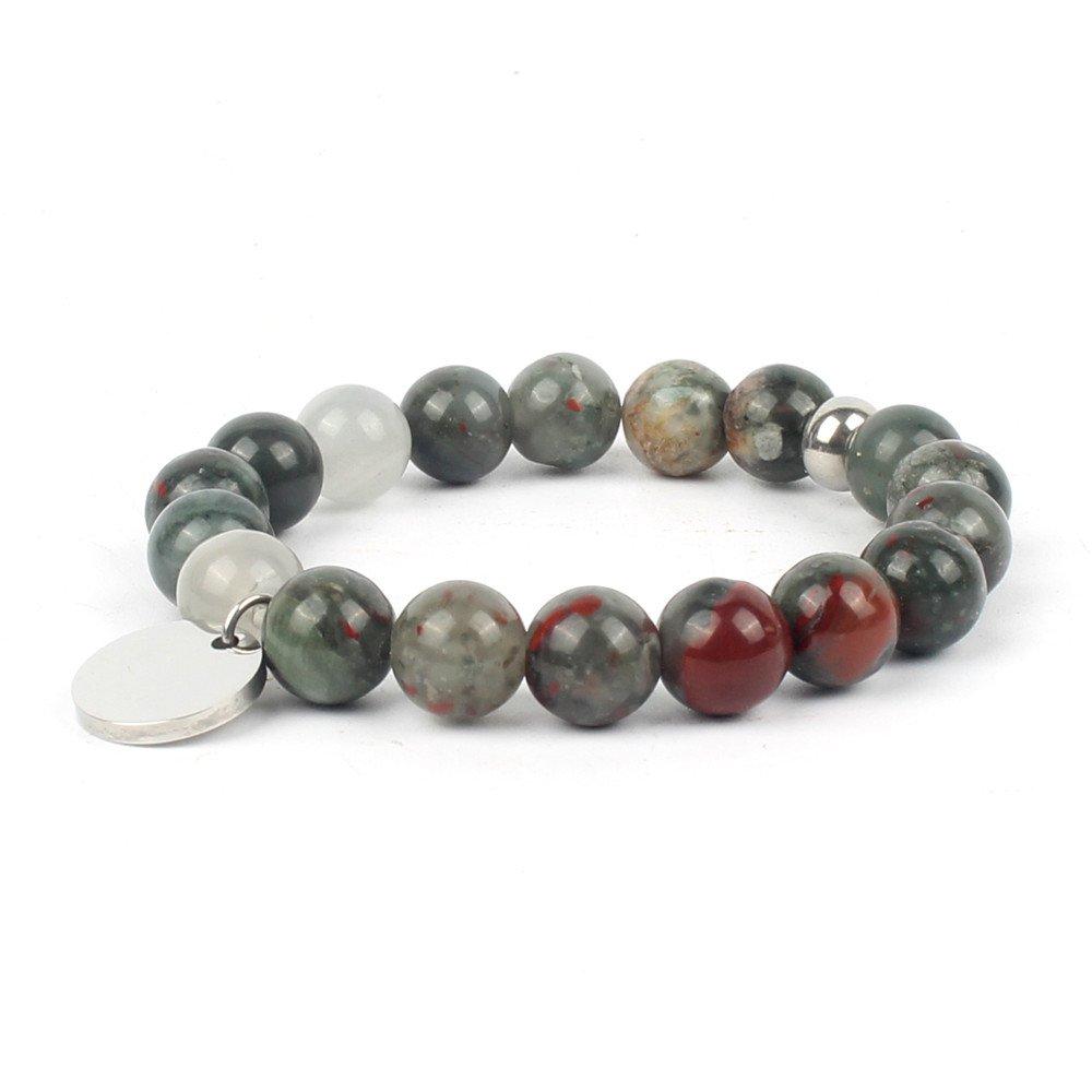 Shinus Bracelet Mens Womens Chakra Handmade Meditation Gemstone Charm Fashion Jewelry Natural Gift Design