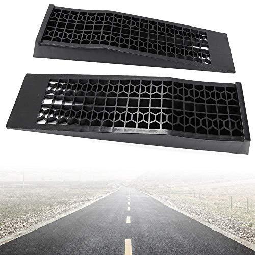 Rampe di Ingresso per Auto 2 Rampe in plastica per Auto Resistenti DiLiBee capacit/à 3 T