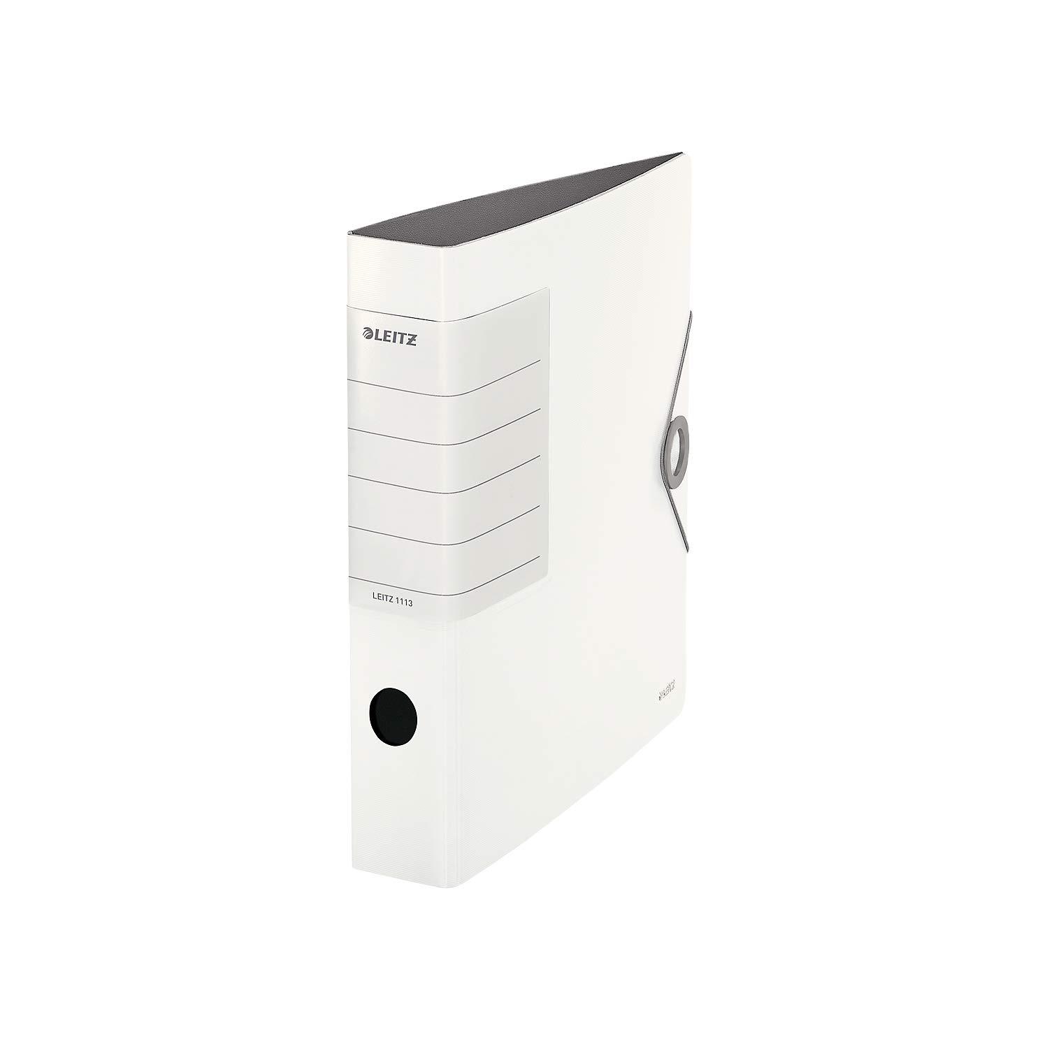 schwarz Leitz 11130095 Multifunktions-Ordner Solid A4, 2-fach-Lochung