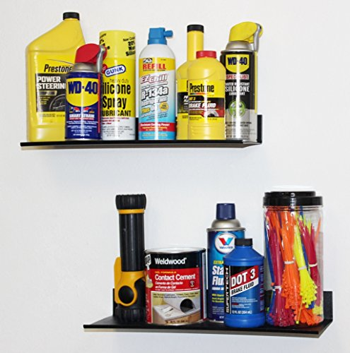 WallPeg Metal Shelves Mount to Wall or pegboard