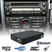 Manos Libres Bluetooth A2DP USB SD AUX Adaptador