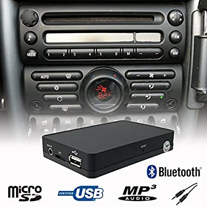 amazon com stereo bluetooth handsfree a2dp usb sd aux mp3 wma cd rh amazon com Mini Cooper Owner's Manual Mini Cooper Countryman