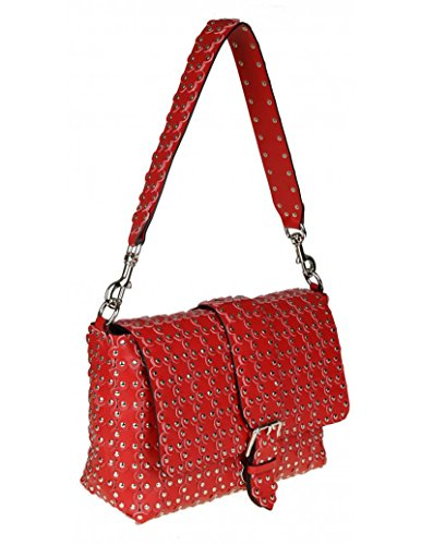 Red Shoulder Red Valentino Pq2b0a23f58xiq Leather Bag Woman tP4Aqw