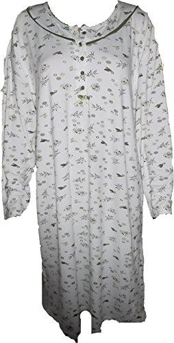 716 Verde lunghe con maniche da Camicia notte pTqwFRW