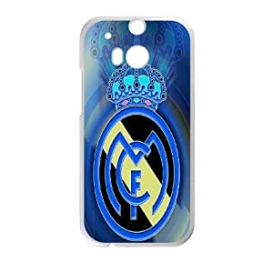 HTC One M8 Phone Case Printed With Real Madrid Logo Images