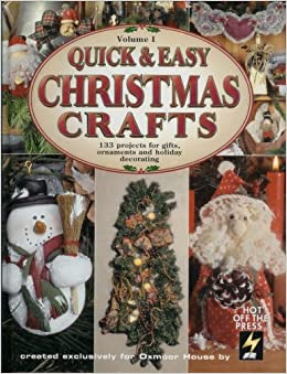 Christmas Crafting Projects.Quick Easy Christmas Crafts Vol 1 133 Projects For