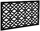 YardSmart 73004781 Decorative Screen Panel 2X4-Celtic, Black