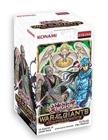 Konami Ygo Wgr De Kartenspiel Yu Gi Oh War Of The Giants