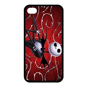 Customize Cartoon Movie Nightmare Before Christmas Back Case for iphone 4 4S JN4S-1998