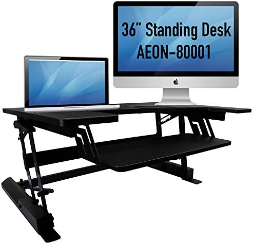 Aeon Sit to Stand Desk – Height Adjustable 36 Wide