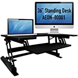 Aeon Sit to Stand Desk - Height Adjustable (36 Wide)