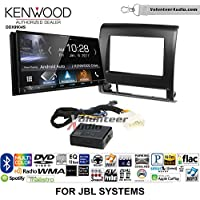 Volunteer Audio Kenwood DDX9904S Double Din Radio Install Kit with Apple CarPlay Android Auto Bluetooth Fits 2012-2015 Toyota Tacoma with Amplified System