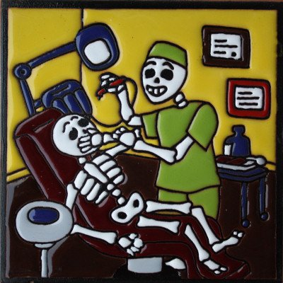 6x6-dentist-day-of-the-dead-clay-tile