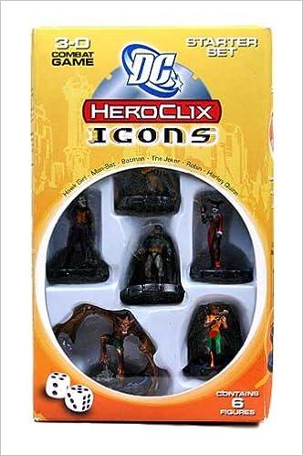 Wizkids - DC HeroClix - Icons (Starter Set)