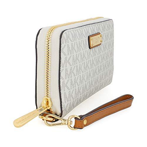 Buy michael kors wallet wristlet vanilla
