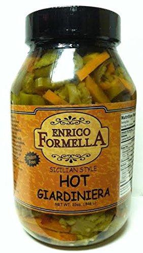 Hot Italian Pepper (Enrico Formella | Hot & Spicy Giardiniera | Italian - Chicago Style Pickled Vegetables (32. oz))