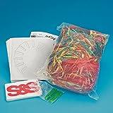 Raffia Basket Craft Kit Pack of 24