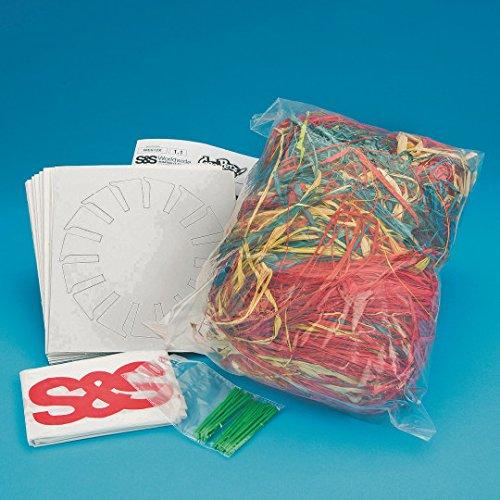[해외]라피아 바구니 공예 키트 팩 24 개/Raffia Basket Craft Kit Pack of 24