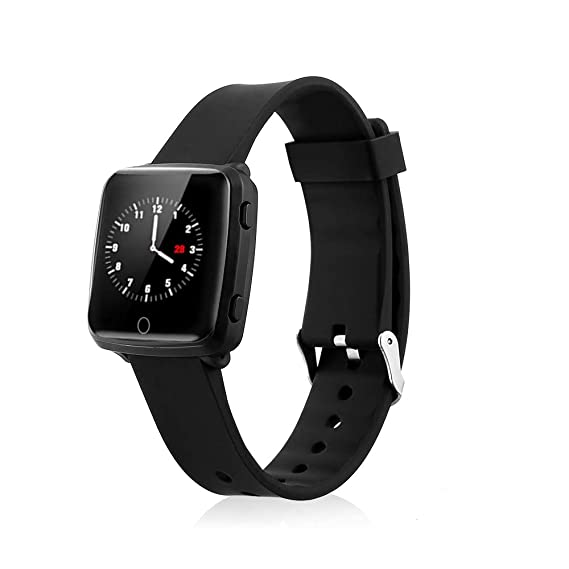 Sports Waterproof Smart Watch,Fitness Tracker Smart Watch with Heart Rate Activity Tracking Sleep Monitoring Compatible with IOS8.0 and Android 4.4