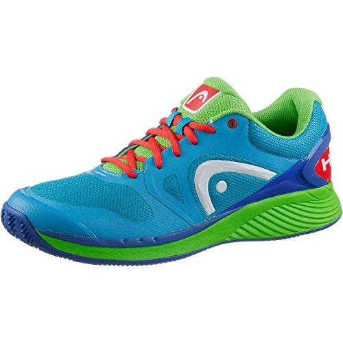 Head Zapatos de tenis hombre azul y verde