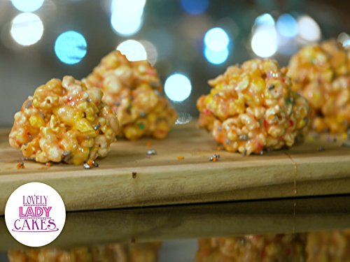 Birthday Cake Popcorn Balls