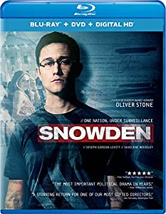 Cover Image for 'Snowden (Blu-ray + DVD + Digital HD)'