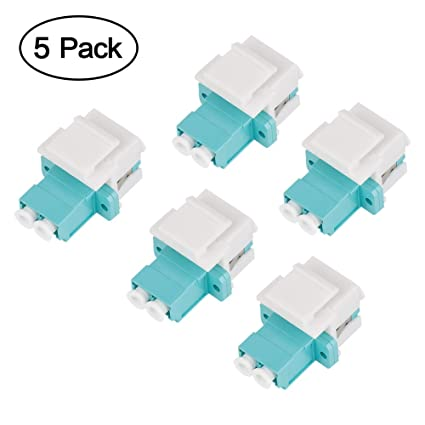Optical Fiber Cables Networking Cables & Adapters Nice Optical Fibre Cable Multimode Om3 Aqua Turquoise 15m Lc Male Upc To Lc Male Upc