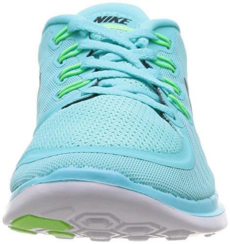 Nike Women's Free 5.0+ Laufschuh Licht Aqua / Blk / Lt Rtr / Grün Glw