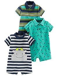 Simple Joys by Carter's Baby - Juego de 3 Pelele para niño