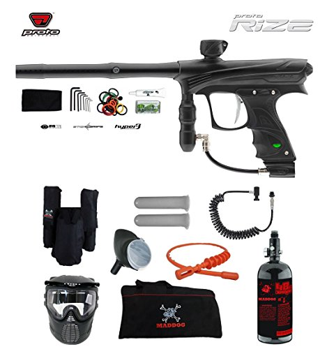 Proto Rize Private HPA Paintball Gun Package - Black Dust