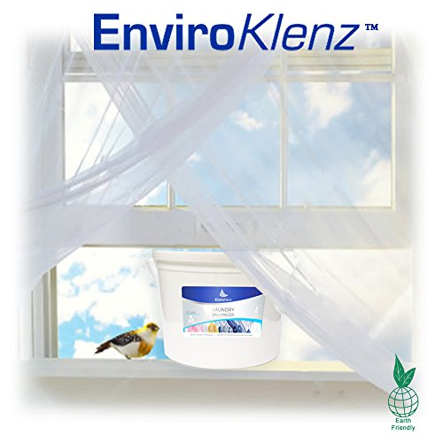 EnviroKlenz 80 Load Powder Fragrance-Free & Non-Toxic- Best Odor Eliminating Detergent for Mold, Mildew Odors, & Musty Smells