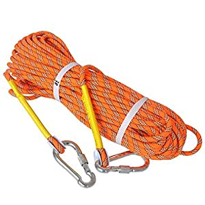 Outdoor Rock Climbing Rope 8mm Diameter Survival Safety Rappelling Rescue Cord