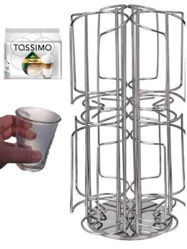 Café-soporte de la cápsula para cafeteras Tassimo, 64 cápsulas de ...