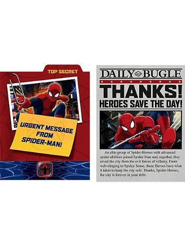Hallmark Ultimate Spider-Man Invitations and Thank You's (8ct ea.) for $<!--$4.99-->