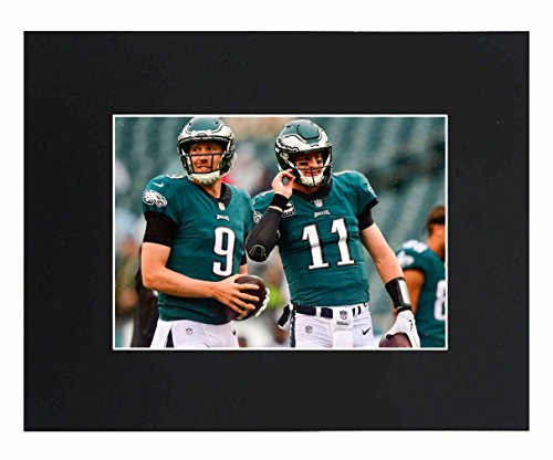 2018 Super Bowl Champions - Philadelphia Eagles EAGLES NFL 2018 Super Bowl Champions Nick Foles Carson Wentz Football Team Art Print Picture poster 8x10 Matted Print Printed Picture Photograph Gift Wall Decor Display USA Seller