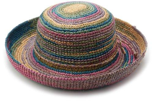 Raffia Crochet Hat - 1